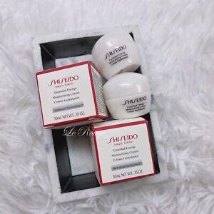 Lot Of 2 Shiseido Essential Energy Moisturizing Cream - 0.35 oz Each - BNIB
