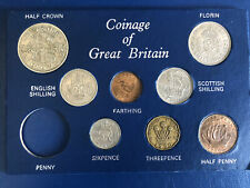 More details for coin set 1950-king george vi coin set-penny is missing