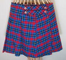 Schoolgirl Plaid Mini Skirt Juniors 7