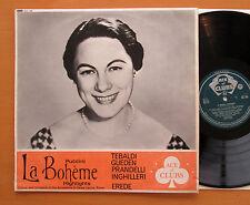 ACL 196 Puccini La Boheme Highlights Tebaldi Gueden Erede Decca Mono EXCELLENT