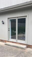 72� x 80� exterior Glass wood Full Lite Stationary Patio Door