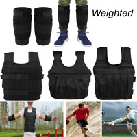 Adjustable Weighted Vest Ankle Leg Bands for Gym Speed Workout Training Loading
