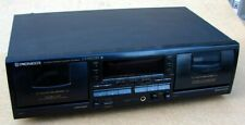 Pioneer Ct-W603Rs Stereo Dual Cassette Deck Auto Reverse Recorder Player