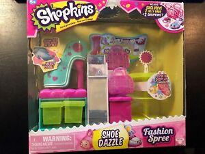 Shopkins Fashion Spree Shoe Dazzle Play Set Season 3 Moose Toys New