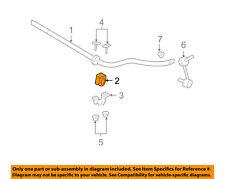 FORD OEM Crown Victoria Stabilizer Bar-Front Bar Bushings (SET OF 2) 4W1Z5493DA