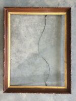 Exquisite Victorian Walnut And Gold Frame For mirror Or Painting.