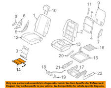 FORD OEM Seat Heater-Element 5F9Z14D696B