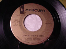 LARRY GORDON Lefty Louie/Down At Tony's Cafe RARE JAZZ POPCORN~MERCURY Demo Hear
