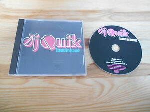 CD Hiphop DJ Quiks - Hand In Hand (3 Song) Promo ARISTA / PROFILE USA