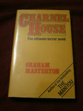 Charnel House by Graham Masterton (1979, HC) UK first print Manitou author