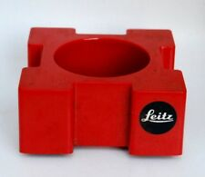 Leica R Lens Display stand sign Red Plastic 1970's