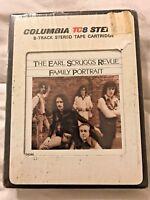 Columbia The Earl Scruggs Revue Family Portrait TC8 Stereo Tape Cartridge-Sealed