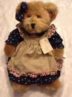 Amelia Russ Bears Of The Past 4th of July Teddy Plush Stuffed Animal Dress