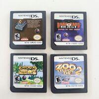 Nintendo DS Big Mutha Truckers Chicken Shoot Zoo Tycoon Barnyard Blast Game Lot