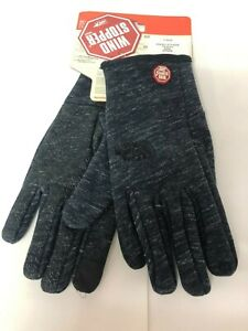 the north face windwall etip Black / gray size L unisex glove