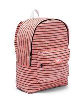 Victoria's Secret PINK Lightweight Canvas Backpack Bookbag School Campus NEW