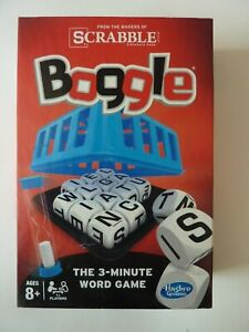 2014 Hasbro Boggle the 3-Minute Word Search Game Complete