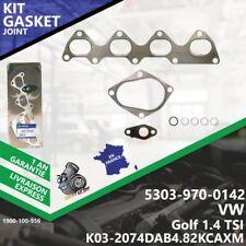 Gasket Kit Joint Turbo VW Golf 1.4 TSI 5303-970-0142 K03 1.4 TSI Melett-556