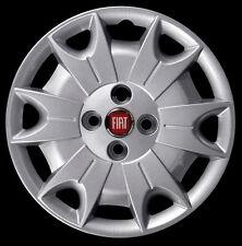 "Fiat Panda 4x4 2004 Kit de 4 Llantas taza rueda 14"" logotipo rojo cod. 1232LR"