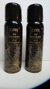 Two (2) Brand New Bottles of Oribe Dry Texturizing Spray Travel size. 2.2 oz.