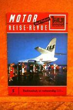 Motor + Fahrer Reise Revue 5/59 NSU Prinz Autos des Ostens