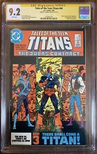 Tales Of The Teen Titans #44 - CGC SS 9.2 Signed By George Perez!