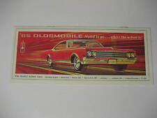 1965 Oldsmobile Sales Brochure...Starfire, Jetstar, F85