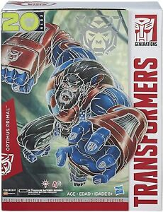 Transformers Platinum Edition Leader Class Optimus Primal Action Figure- NEW NIB