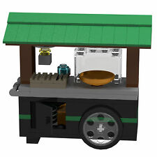 LEGO Singapore Food Culture Food Cart PDF Instructions LDD Files