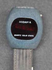 VINTAGE RODANIA RED LED WATCH