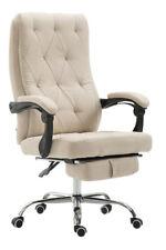 Bürostuhl Gear Stoff Chefsessel Drehstuhl mit Fußablage Schreibtischstuhl Sessel