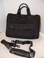 Tumi 25631 DH T-Pass Organizer Briefcase Small Laptop Bag Business Brief Carryon