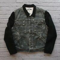Helmut Lang Distressed Denim Jean Jacket Size XL