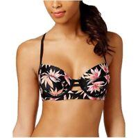 Hula Honey Paradise Falls Push Up Bikini Top NWT