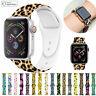 Muster gedruckt Silikon Armband Watch Band für Apple Watch Series 5 4 3 2 iWatch