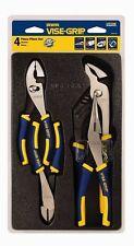 Irwin Vise-Grip 2078707 4 Piece Traditional Pliers Set