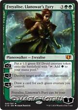 FREYALISE, LLANOWAR'S FURY Commander 2014 MTG Green Elf Planeswalker Mythic Rare
