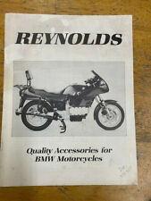 BMW Reynolds Accessory Sales Flyer