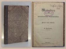 Grohmann & Teichmann Das Obererzgebirge Geschichtsbilder Marienberg 1900/1903 xz
