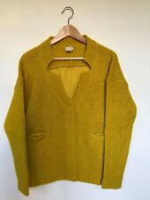 H&M Trend Yellow Wool blend cardigan