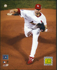 Chris Carpenter World Series St. Louis Cardinals 8x10 Photo With Toploader