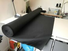 Black Heavy Duty 600 D Polyester Pvc Coated Outdoor Canvas Waterproof Fabric.