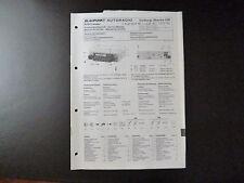 Original Service Manual Blaupunkt Autoradio Coburg Stereo CR