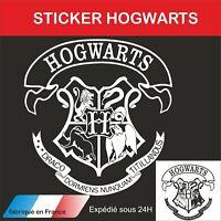 harry potter - Autocollant mural - sticker décoration - sorcier - hogwart