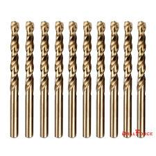 """Drillforce 1/16""""-1/2"""" Cobalt Drill Bit Set M35 HSS Jobber Length Twist Drill Bit"""