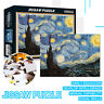 1000 Pieces Jigsaw Puzzle DIY Starry Night Adult Puzzles Kids Educational Toy