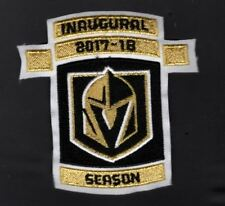 VEGAS GOLDEN KNIGHTS PATCH INAUGURAL GAME 2017-18 SEASON PUCK STYLE STANLEY CUP