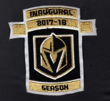 VEGAS KNIGHTS JERSEY PATCH INAUGURAL SEASON 2017- 2018 PUCK STYLE NHL PLAYOFFS