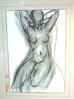 "Henri Matisse Nu dans Un Fauteuil c. 1950 Serigraph Signed Framed 17.5"" x 21.5"""