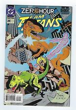 Team Titans #24 Zero Hour (1994 DC Comics) *VF+